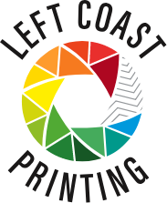 Left Coast Printing Logo